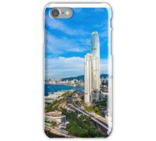 Hong Kong modern scene iPhone Case/Skin