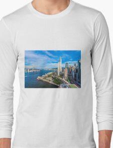 Hong Kong modern scene Long Sleeve T-Shirt