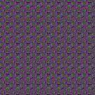 Weed Paisley {Purple} by IggyMarauder