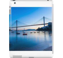 Ting Kau Bridge in Hong Kong iPad Case/Skin