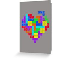 THE GAME OF LOVE Greeting Card