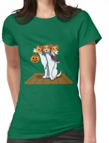 Little Cerberus wants to go for a walk Womens Fitted T-Shirt