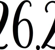 marathon- 26.2 Sticker