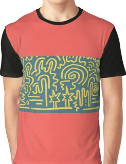 Clean Stripe (South Beach) Graphic T-Shirt