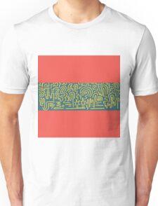 Clean Stripe (South Beach) Unisex T-Shirt