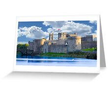King John's Castle Limerick, Ireland Greeting Card