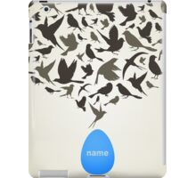 Birds from egg iPad Case/Skin