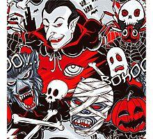 Vampires Night Photographic Print
