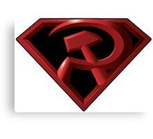 Superman - Red Son Logo Canvas Print