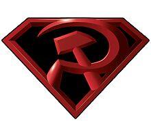 Superman - Red Son Logo Photographic Print