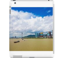 Macau cityscape iPad Case/Skin
