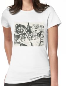 The basket of apples  Womens Fitted T-Shirt