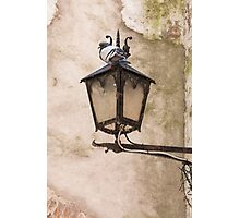 old lamp Photographic Print