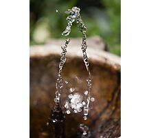 water gushing Photographic Print