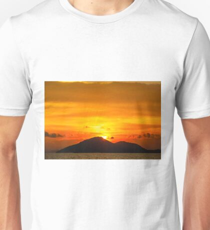 Sunset island Unisex T-Shirt