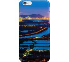 Sunset ponds iPhone Case/Skin