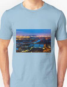 Sunset ponds Unisex T-Shirt