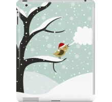 Christmas bird iPad Case/Skin