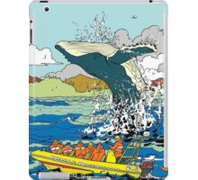 Jumping Whale iPad Case/Skin