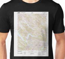 USGS TOPO Map California CA Briones Valley 20120510 TM geo Unisex T-Shirt