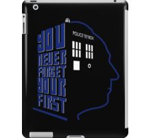 You Never Forget Your First - Doctor Who 1 William Hartnell iPad Case/Skin