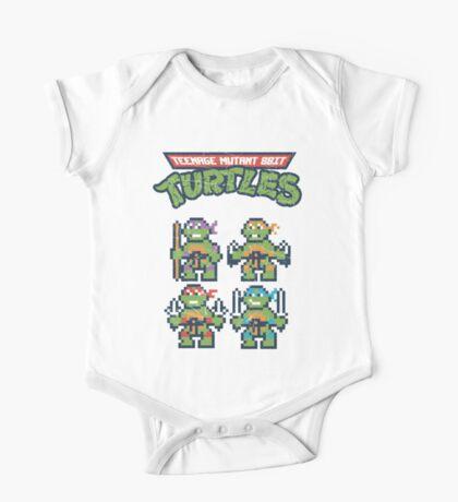 Teenage Mutant 8bit Turtles One Piece - Short Sleeve