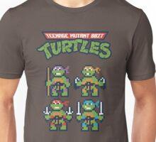 Teenage Mutant 8bit Turtles Unisex T-Shirt