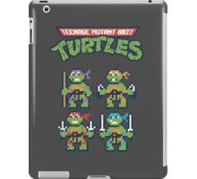 Teenage Mutant 8bit Turtles iPad Case/Skin