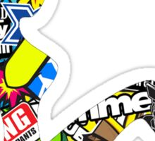 JDM TRUCKER BABE Sticker