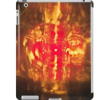 bright, colourful, fiery abstract pattern iPad Case/Skin