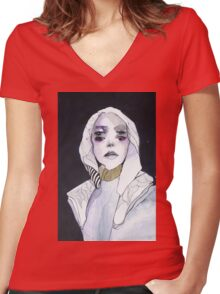 Tame this Women's Fitted V-Neck T-Shirt