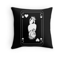 King 'Chris In The Den' Black Throw Pillow