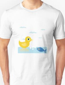 Duck and fish T-Shirt