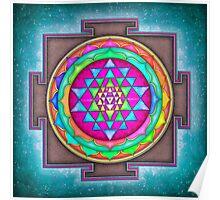 Sri Yantra 7 - Artwork 7 Poster