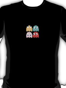 Pacman - All the Ghosts - Vintage T-Shirt