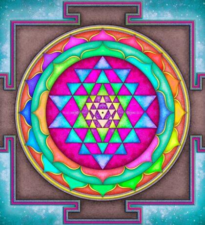 Sri Yantra 7 - Artwork 7 Sticker