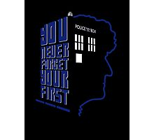 You Never Forget Your First - Doctor Who 3 Jon Pertwee Photographic Print