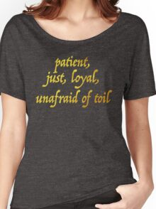 Just and Loyal Women's Relaxed Fit T-Shirt