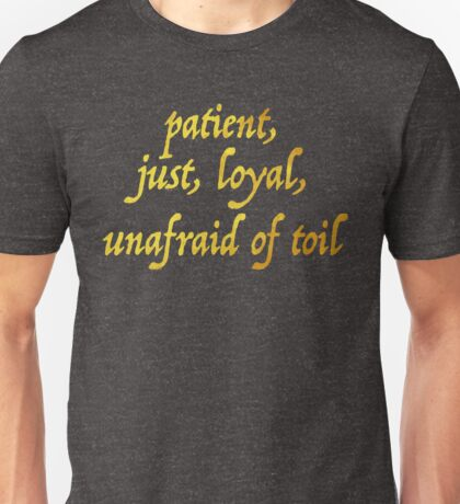 Just and Loyal Unisex T-Shirt