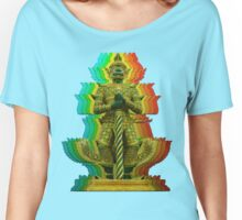 Emerald Buddha Women's Relaxed Fit T-Shirt