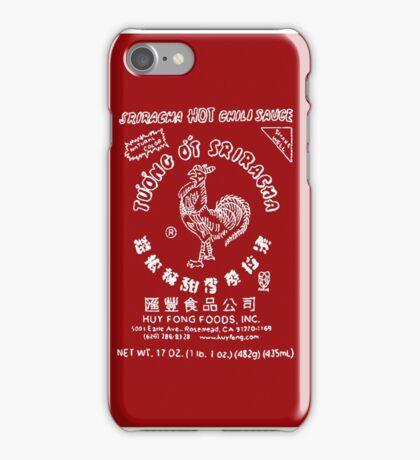 Sriracha Logo iPhone Case/Skin