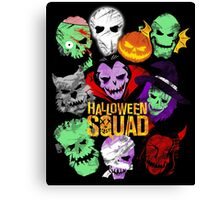 Halloween Squad Canvas Print