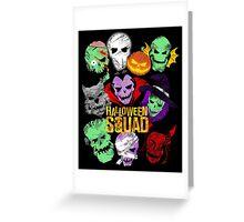 Halloween Squad Greeting Card