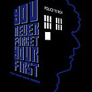 You Never Forget Your First - Doctor Who 4 Tom Baker by JadBean