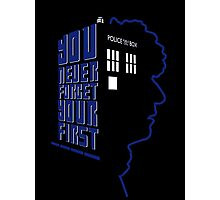 You Never Forget Your First - Doctor Who 4 Tom Baker Photographic Print
