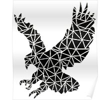 Tumblr Design  Geometric Eagle Poster