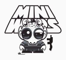 MinIWars: Greedo Black&White by Ryan Spencer
