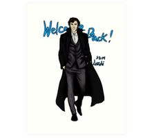 Sherlock Returns! Art Print