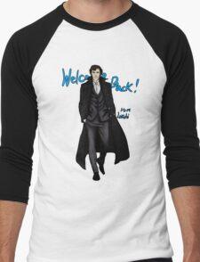 Sherlock Returns! Men's Baseball ¾ T-Shirt