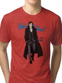 Sherlock Returns! Tri-blend T-Shirt